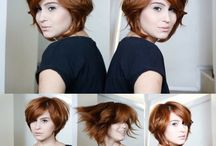 la.pelucaria - work (hair) / my work, hair, hairstyle, color, hairdresser. / by Manuchxa Leite