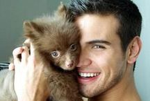 Hot Men & Cute Animals / by Martina Strong