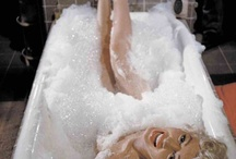 """Claw foot bath tubs / This board illustrates my blog post titled """"""""There's nothing that a nice, long, warm bubble bath can't fix"""" …unless it's the bubble bath from hell.""""  If I had one of these bath tubs, i'm sure it would've been much more relaxing.  Check out my blog post at: http://wp.me/p2JOTv-2t"""
