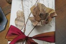 Wonderful Wrappings / Beautiful gift wrapping ideas