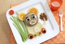 Food:  Fun Food / Recipes, tips, and tricks for creative kid-friendly food idea.  They're almost like pieces of art!