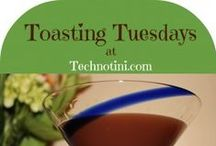 Let's Toast:  Toasting Tuesdays at Technotini / Each week I like to imagine that we're all hanging out, enjoying some fabulous girl talk and toasting Wine, Women, Wellness, and everyday Wins!  (And probably some pop culture for good measure.)