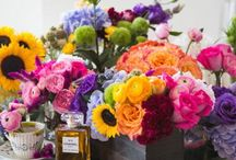 Fresh Flowers / Creative ways to make fresh flowers a part of the home...