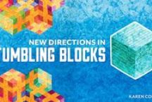 Craftsy class: New Directions in Tumbling Blocks / Projects, videos, tricks, tips and inspiration from my Craftsy class: NEW DIRECTIONS IN TUMBLING BLOCKS (Link to view trailer: http://www.craftsy.com/video/course?courseId=5040