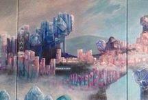 Cities in art / Artwork by Katerina Mandila Nikoloudi