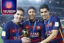 Top photos of the season / by FC Barcelona