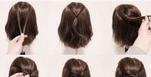 hairstyles (SAÇ STİLİ) / hairstyles and hair accessories