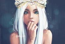 Beautiful Digital Painting / Digital art inspirations