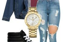 Jeans wear / from party, dressing for casual wear