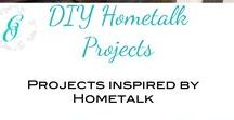 DIY and Repurposed Hometalk Projects / A collaborative board for avid DIYers and Repurposers, who love Hometalk. We have tons of ideas from brilliants hacks to elegant crafts for your home and garden.  Get your DIY fix here!  If you are a blogger on Hometalk and want to be added to this board, please email us at curbsideoverhaul@gmail.com