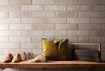 Bricks / #tegels#badkamer#story#supergres#houtenplank#wastafel#spiegel#janvanerp#waskom#ceremics#keramische tegels