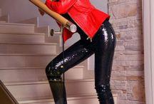 Leather & latex pants