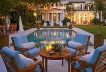 Backyards & Outdoor Spaces / A vacation in your backyard - the ultimate retreat! / by Lisa | Authentic Suburban Gourmet