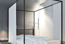 Canopy Beds / This collection is a collection of contenders as I seek to find the perfect, contemporary canopy bed.