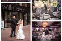 Great Wedding Ideas / Looking for a perfect wedding location in Chicago?  Call the Metropolitan Club in the Willis Tower to see just how memorable your special day can be! / by Metropoltian Club Chicago