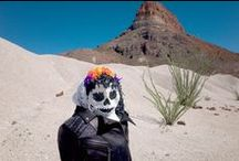 Dia de los Muertos / We took our VEDA x Pamela Love jacket on road trip across south Texas and stopped to photograph her along the way.  / by VEDA