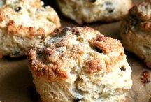 Biscuits & Scones / Savory or Sweet?  Nothing better than a warm, buttery, flaky, tender biscuit or scone in my book.