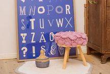 Wohnen - gehäkelt und gestrickt, genäht und gestickt / DIY-Inspirationen für Eure Wohnung - vom Lampenschirm bis zur Wohnlandschaft