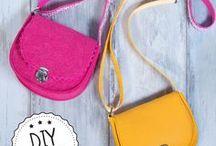 Taschen, Taschen, Taschen / Kleine Taschen, große Taschen, runde Taschen, eckige Taschen - wir lieben Taschen, vor allem, wenn sie selbstgemacht sind!