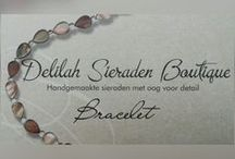 Bracelet / Armbanden / Armbanden handgemaakt door Delilah Sieraden Boutique. Beautiful bracelets made by Delilah Sieraden Boutique. Available at https://www.oorbellenboutique.nl