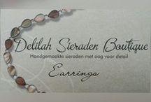 Earrings / Oorbellen / Oorbellen handgemaakt door Delilah Sieraden Boutique. Handmade earrings made by Delilah Sieraden Boutique. https://www.oorbellenboutique.nl