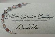 Anklets / Enkelbandjes / Enkelbandjes handgemaakt door Delilah Sieraden Boutique. Anklets handmade by Delilah Sieraden Boutique. https://www.oorbellenboutique.nl