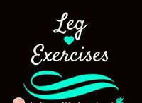 Leg Exercises / Exercises that hit quadriceps, hamstrings, glutes, and calves