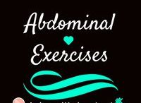 Abdominal Exercises / Workouts that hit all areas of the abdomen (abs)! Work hard and stick to it!