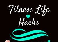 Fitness Life Hacks / Tips and tricks to improve your fitness! This is to help whatever areas you may be struggling in fitness and nutrition!
