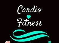 Cardio Fitness / Cardio is the hardest fitness activity for me. Here are some tips and exercises to get your cardio in!