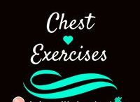 Chest Exercises /  Exercises for Chest day! Girls do not need to work chest as much as guys unless you are going to do a competition. HOWEVER, you still want to work chest and strengthen those muscles. There are also exercises to do to boost up boobs rather than take them away and to remove any excess fat in the area.