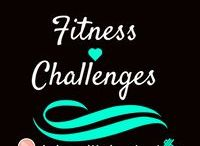 Fitness Challenges / Challenges to try for all parts of the body. There are also some nutritional challenges as well!