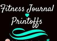 Fitness Journal Printoffs / Printoffs to track your fitness progress