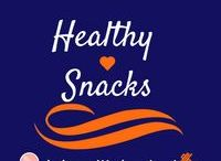 Healthy Snacks / You should have 2-3 snacks a day. Here are some healthier choices to choose from!