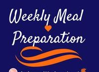 Weekly Meal Preparation / Preparing meals for an entire week! Some items in the meal prep may just be good for a few days, but you can always get what you can ready!