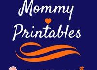 Mommy Printables / Printables on finance, organization, and motherhood to make your day a little easier