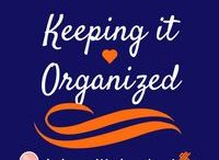 Keeping It Organization / When your life is more organized, you can get more done and focus less on the little errors. Here is to a stress-free week!