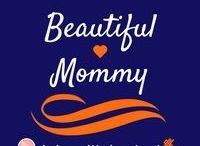 """Beautiful Mommy /  It is a wonderful feeling being able to have a moment to pamper yourself. Here are ways to spend that """"mommy spa day""""! You are BEAUTIFUL! Let it show!"""