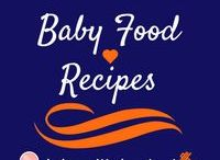 Baby Food Recipes / I absolutely LOVE Making homemade baby food! Here are some baby food recipes to try for different ages of your baby.