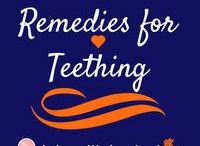 Remedies for Teething / This board includes remedies for teething and ideas of approximately what teeth appear when. Your baby will be sore as his/her teeth come in so it is good to have an idea of how to ease that pain.