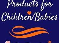 Products for Children/Babies / Products that are useful, wanted, or needed for babies and young children