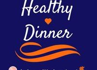 Healthy Dinner / Healthy Choices for Dinner. Dinner can become unhealthy with carbs and fats. It helps to have some dinner options! #BzzBites #BiteSizedBzz