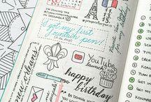 ~ journaling ~