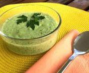 Cremas y sopas / Recetas de cremas y sopas vegetarianas