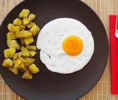 Huevos / Recetas con huevos vegetarianas