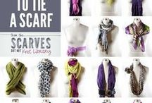 Scarf Ideas / Looking for different ways to tie a scarf? Then this is the perfect board for you!