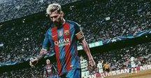 Football / Football ! FC Barcelona ! Messi and Neymar ! And a girl footballer Alex Morgan !