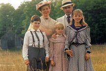 TV: Road To Avonlea & Anne of Green Gables / Road to Avonlea is set in a fictional small east coast town on Prince Edward Island in the early 20th century. Based on characters and stories from the novels of Lucy Maud Montgomery, the 95 episode one-hour series was a spin-off from Sullivan Entertainment's miniseries of Montgomery's best known novel, Anne of Green Gables. Among the 95 episodes are both uproarious and touching stories that celebrate childhood and imagination alongside more serious themes of birth, love, old age and death as experienced in a small community during the Edwardian era. The long running saga co-produced with Disney and CBC came to be regarded as something of an institution. Its sumptuous, cinematic production values, heartfelt characters and story lines sparked a cult-like following all over the world.