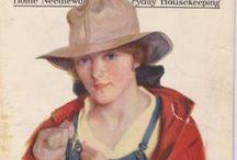 Modern Priscilla Vintage Magazine Covers