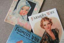 Farm Magazine Vintage Covers etc